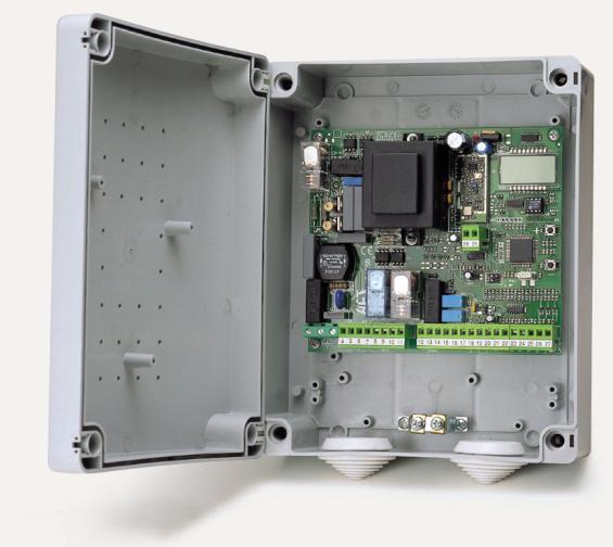 Fiche produit 170603 bft altair p boitier de commande un ou d - Boitier commande portail electrique ...