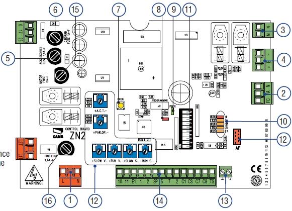 Schema Electrique Motorisation Portail Coulissant Came Callico
