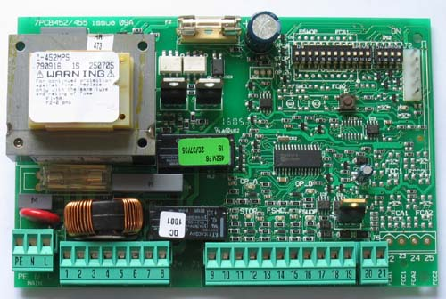 fiche produit 120149 faac 452 mps platine