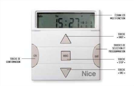 Fiche produit 101240 nice planotime - Nice automatisme catalogue ...