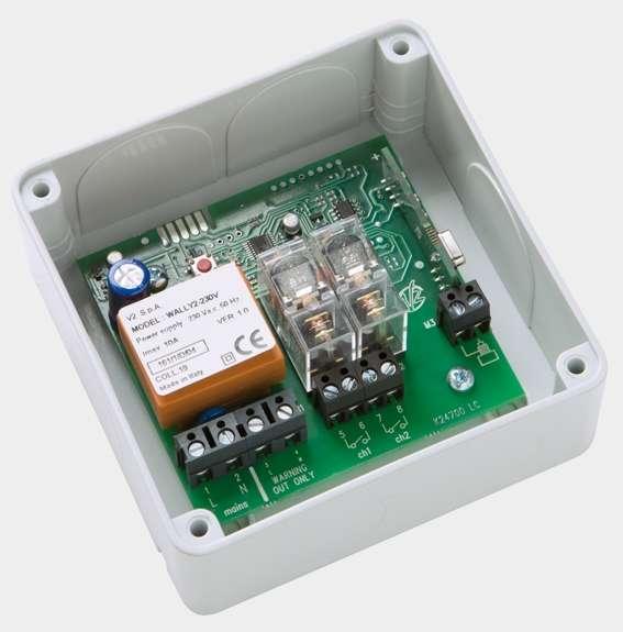 Fiche produit 370625 v2 elettronica wally2 for Catalogue eclairage exterieur